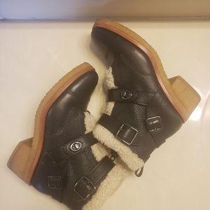 Coach Preston black Booties size 9.5